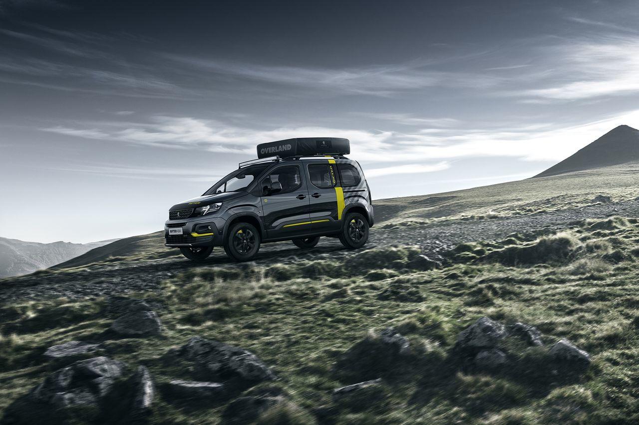 Powrót kombivanów także w wersjach 4×4. Peugeot Rifter 4×4
