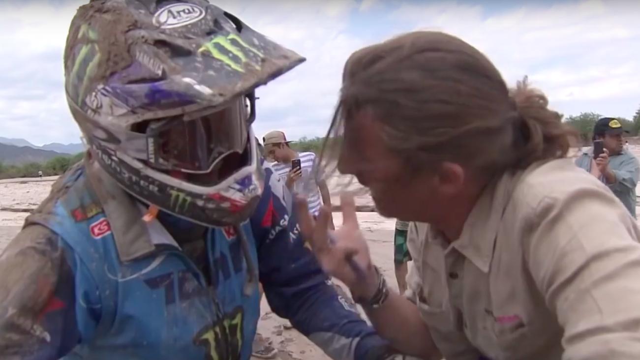 Adrien Van Beveren – wypadek na Dakarze 2018. Etap 10