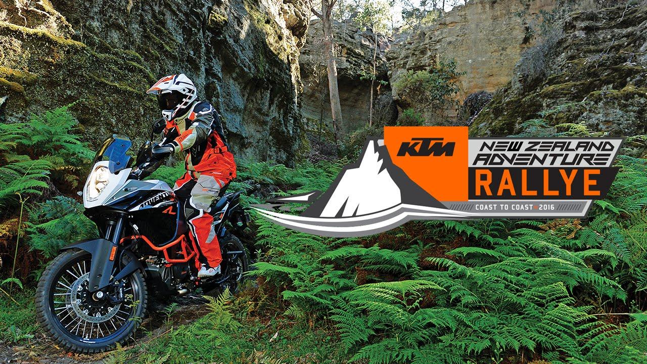 Rajd KTM Adventure w Nowej Zelandii – wideo