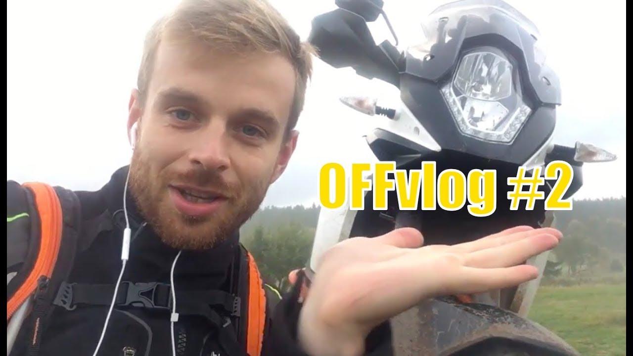 Czy warto jeździć codziennie motocyklem? | OFFvlog #2